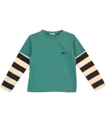 Bandy Button Kary Tee-shirt Long Sleeves Bandy Button Kary Tee-shirt Long Sleeves