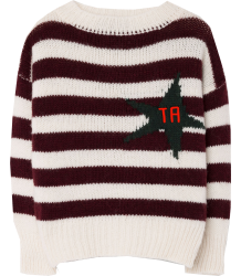 The Animals Observatory Bull Kids Sweater STRIPES The Animals Observatory Bull Kids Sweater STRIPES