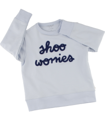 Tiny Cottons SHOO WORRIES Graphic Sweatshirt Tiny Cottons SHOO WORRIES Graphic Sweatshirt