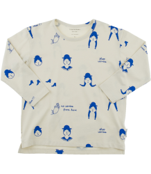 Tiny Cottons LS Relaxed Tee NO-WORRY DOLLS  Tiny Cottons LS Relaxed Tee NO-WORRY DOLLS blue
