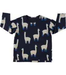 Tiny Cottons LS Relaxed Tee LLAMAS Tiny Cottons LS Relaxed Tee LLAMAS