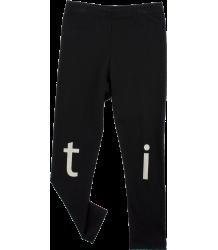 Tiny Cottons T-I-N-Y Logo Pant Tiny Cottons T-I-N-Y Logo Pant black