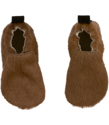 Tiny Cottons Leather Baby Shoes HAIRY MOCKS Tiny Cottons Leather Baby Shoes HAIRY MOCKS