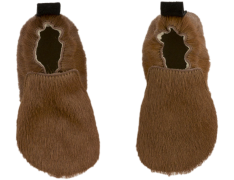 Tiny Cottons Leather Baby Shoes HAIRY MOCKS
