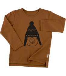 Tiny Cottons LS Graphic Tee LLAMA WITH BEANIE Tiny Cottons LS Graphic Tee LLAMA WITH BEANIE