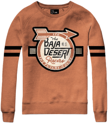 The Future is Ours BAJA DESERT Sweatshirt The Future is Ours BAJA DESERT Sweatshirt