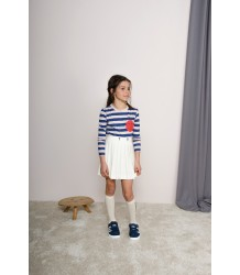 The Animals Observatory Dog Kids T-shirt STRIPE The Animals Observatory sizes