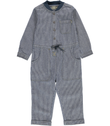 Kidscase Wolf Suit Kidscase Wolf Suit striped blue denim