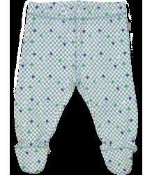 Kidscase Prince Organic NB Footed Pants CUBE Kidscase Prince Organic NB Footed Pants
