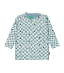 Kidscase Prince Organic NB T-shirt CUBE Kidscase Prince Organic NB T-shirt blue