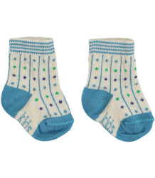 Kidscase Organic Winter NB Socks Kidscase Organic Winter NB Socks blue