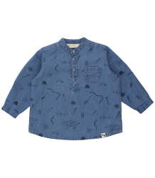 Soft Gallery Svend Denim Baby Shirt ARTIST aop Soft Gallery Svend Denim Baby Shirt ARTIST aop