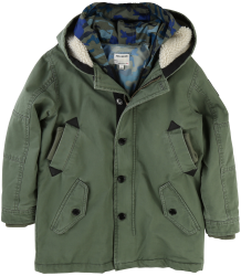 Zadig & Voltaire Kids Hooded Parka + Windjacket Zadig & Voltaire Kid Hooded Parka   Windjacket