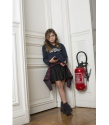 Zadig & Voltaire Kids T-shirt Boxer MUSE Zadig & Voltaire Kid Leather Look Skirt