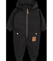 Mini Rodini Pico Baby Overall Mini Rodini Pico Baby Overall black