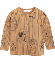 Mini Rodini Grandpa LS Tee FOX FAMILY Mini Rodini Grandpa LS Tee FOX FAMILY