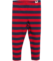 Mini Rodini Leggings BLOCKSTRIPE Mini Rodini Leggings BLOCKSTRIPE red