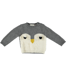 Stella McCartney Kids Ira Baby Knit Jumper PENGUIN Stella McCartney Kids Ira Baby Knit Jumper PENGUIN