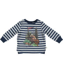 Stella McCartney Kids Crumble Striped Baby Tee BEAR Stella McCartney Kids Crumble Striped Baby Tee BEAR