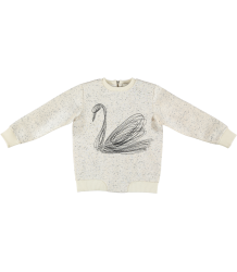 Stella McCartney Kids Reeve Sweater SWAN Stella McCartney Kids Reeve Sweater SWAN