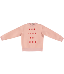 Stella McCartney Kids Candy Scuba Sweater GOOD GIRLS Stella McCartney Kids Candy Scuba Sweater GOOD GIRLS