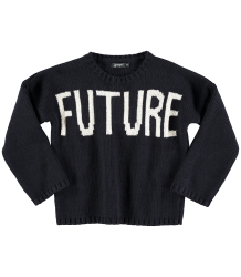 Yporqué FUTURE-PAST Tricot Sweater Yporque FUTURE-PAST Tricot Sweater black