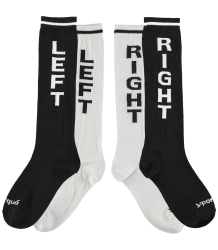 Yporqué Right & Left Socks pack-2 Yporque Right & Left Socks pack-2