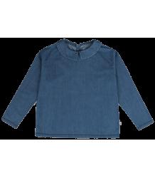 Repose AMS Blouse Shirt with Collar Repose AMS Blouse Shirt with Collar denim