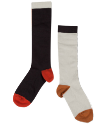 Repose AMS Knee Socks COLORBLOCK Repose AMS Knee Socks COLORBLOCK