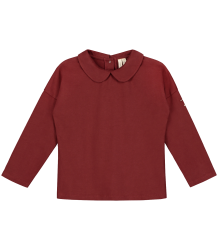 Gray Label Collar LS Tee Gray Label Collar LS Tee burgundy