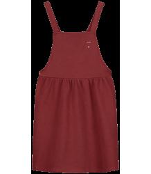 Gray Label Pinafore Dress Gray Label Pinafore Dress burgundy
