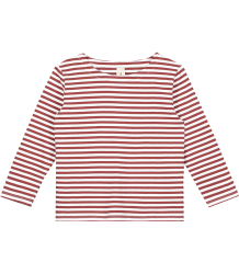 Gray Label Long Sleeve Striped T-shirt Gray Label Long Sleeve Striped T-shirt  burgundy white