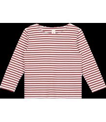 Gray Label Long Sleeve Striped T-shirt Gray Label Long Sleeve Striped T-shirt  burgundy white