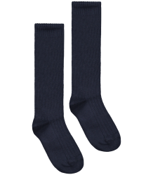 Gray Label Long Ribbed Socks Gray Label Ribbed Socks night blue