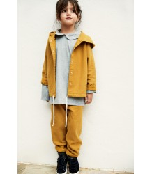 Gray Label Hooded Cardigan with Snaps Gray Label Hooded Cardigan with Snaps mustard