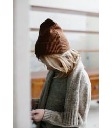 Repose AMS Knit Hat Repose AMS Knit Hat  cognac brown