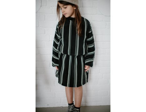 Repose AMS Dress STRIPE