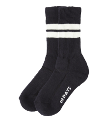 Little 10days Stripe Socks Little 10days Stripe Socks black
