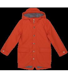 Gosoaky Wild Geese Unisex Rain Jacket Gosoaky Wild Geese Unisex Raincoat red clay