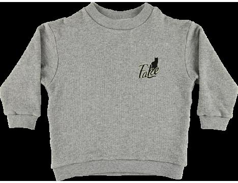 Caroline Bosmans Fleece Sweater FAKE