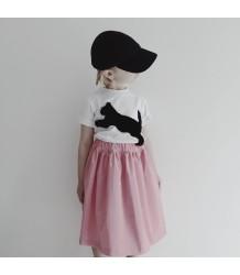 Caroline Bosmans Long Skirt GLOSSY PINK Caroline Bosmans Long Skirt GLOSSY PINK
