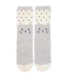 Emile et Ida Sock CAT Emile et Ida Sock CAT gris chine