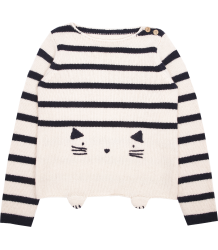 Emile et Ida Pullover STRIPED CAT  Emile et Ida Pullover STRIPED CAT