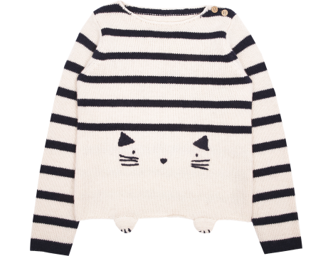 Emile et Ida Pullover STRIPED CAT