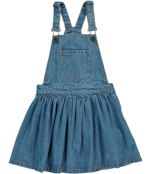Finger in the Nose Trouble Denim Overall Dress Finger in the Nose Trouble Denim Overall Dress blue