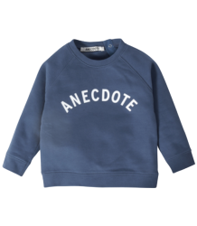 Anecdote Kiki LOGO Sweater Anecdote Kiki LOGO Sweater midnight blue