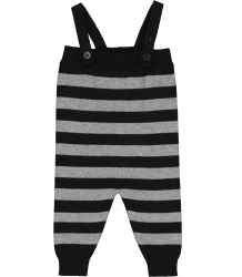 Mini Sibling Knit Romper w/Suspenders STRIPES Mini Sibling Tricot Romper STRIPES
