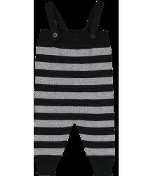 Mini Sibling Knit Romper w/Suspenders STRIPES Mini Sibling Tricot Romper STRIPES
