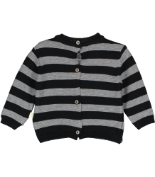 Mini Sibling Knit Reversible Sweater-Cardigan STRIPES Mini Sibling Tricot Sweater-Cardigan STRIPES