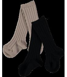 Mini Sibling Ribbed Long Socks - Set of 2 Mini Sibling Ribbed Long Socks - Set of 2